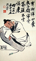 Qi Baishi - 'Stealing the Wine Vat'