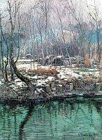 Neige sur le bord de la Seine, 1902