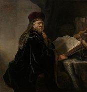 Rembrandt: Gelehrter im Studierzimmer