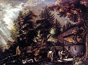 Pieter Stevens - Krajina svodním mlýnem