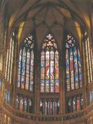 Windows in St. Vitus cathedral