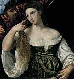 Tizian - Toaleta mladé ženy