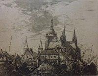 J. K. Vondrouš: Hradčany, foto Galerie F. Jeneweina