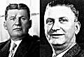 Tomáš Baťa (vlevo) a jeho bratr Jan Antonín