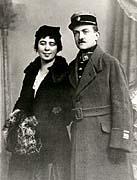 Alois Eliáš se svou manželkou