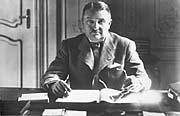 Prime Minister Alois Elias