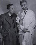 Karel Capek with Hugo Haas as Dr Galen