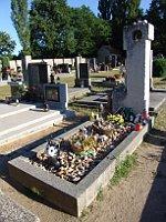 Grab von Bohumil Hrabal in Hradištko (Foto: Archiv Radio Prag)