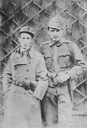 Egon Erwin Kisch (links) in 1918 (Foto: www.wikimedia.org)