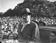 Kisch hält eine Rede bei einem Meeting in Sydney (Foto: www.wikimedia.org)