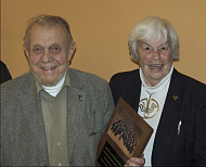 Erazim Kohák with his wife Dorothy