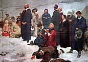 V. Stribrny, Comenius's farewell to the homeland