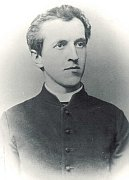 Alois Musil as a priest in 1891