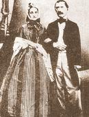 Jakub Kryštof Rad se svou ženou Julianou