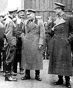 Генерал Власов (справа) и Сергей Буняненко (в центре)