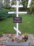 Военная могилая солдат РОА, 5.V.1945