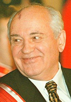 Mikhail Gorbatsjov Portrait Gunilla Von Platen Selfie