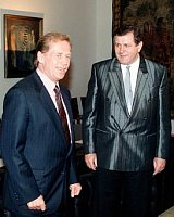 Vclav Havel et Vladimr Meiar