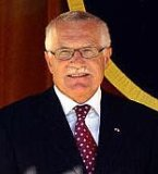 Le prsident Vaclav Klaus
