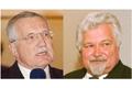 Vaclav Klaus et Petr Pithart, source: CTK