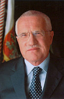 Prsident Vaclav Klaus