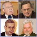 Quatre candidats se présenteront au 1er tour des présidentielles, photos: CTK