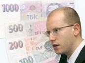 Finanzminister Bohumil Sobotka