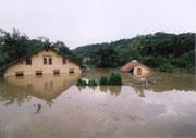 Наводнение в Розткоках у Праги