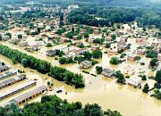 The floods in Moravia, 1997