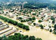 Les inondations en Moravie, 1997