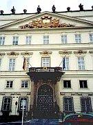 Le palais Lobkowicz à la rue Vlasska
