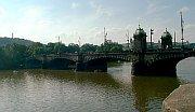 Prague's bridge Most Legií