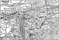 Stadtplan Prag (1922)