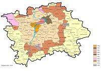 Stadtplan Prag (1784 - 1988)