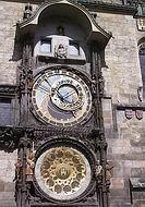 L'horloge de la place de la Vieille ville de Prague