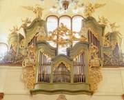 Orgel in der Kirche der hl. Simon und Juda in Prag
