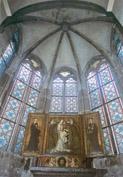 Interiér arkýřové kaple Karolina, foto: Jiří Ployhar