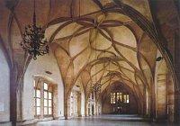 La salle Vladislas au château de Prague