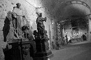Sala del almacén subterráneo de Gorlice, foto: Kristýna Maková