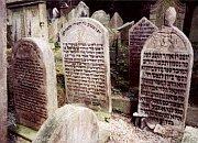 Еврейское кладбище у подножья Жижковской телебашни