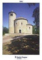 Tarjeta QSL 2016, Rotunda de San Jorge y San Adalberto, monte Říp (Fuente: CzechTourism, Lubomír Stiburek)