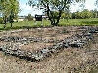 Archäologen stießen in Mikulčice auf Fundamente von Sakralbauten sowie von einem Palast