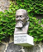 Бюст Плечника на Пражском граде, Фото: Архив Радио Прага