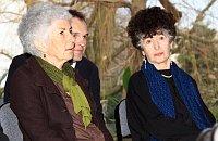 Ruth Guggenheim-Tugendhat (vlevo) aDaniela Hammer-Tugendhat