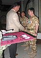 Le ministre de la Défense à Bassora