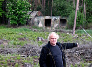 Michael Kocáb at a former Soviet base in Bělá pod Bezdězem, photo: Jan Richter