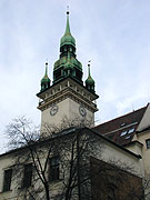 Das alte Rathaus in Brünn