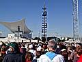 Besuch des Papstes in München (Foto: Autorin)