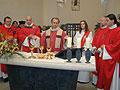 Eucharistiefeier mit der ersten Diakonin