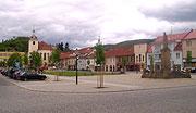 Husovo náměstí v Berouně